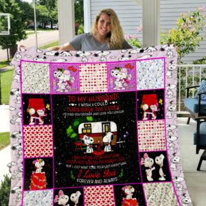 Snoopy Belle Quilt Blanket