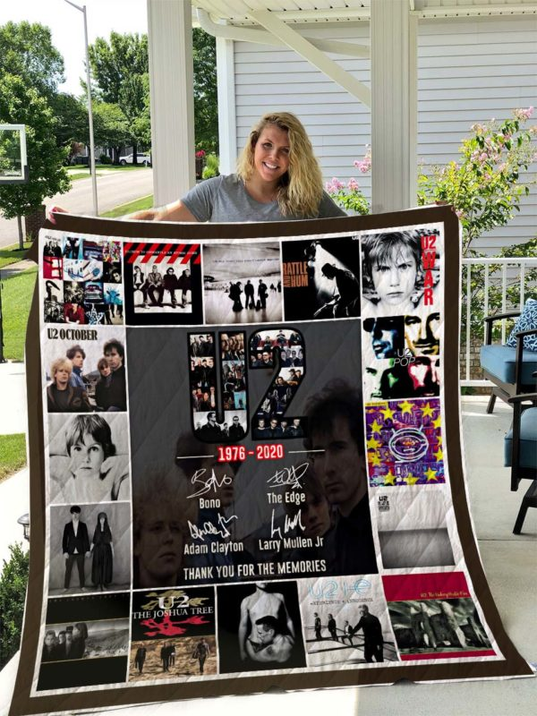 U2 Quilt Blanket