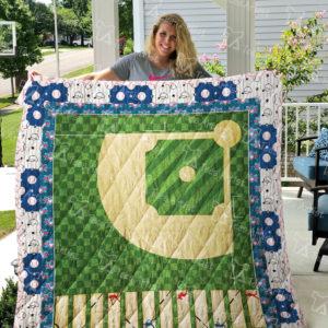 Baseball Quilt Blanket