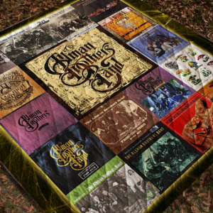 The Allman Brothers Complication Albums Quilt Blanket For Fans New