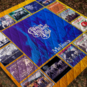 The Allman Brothers Singles Quilt Blanket For Fans