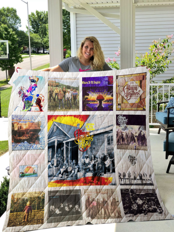 Allman Brothers Albums Quilt Blanket