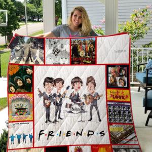 The Beatles Quilt Blanket