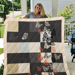 Butterfly-Blanket Quilt-Limited Edition