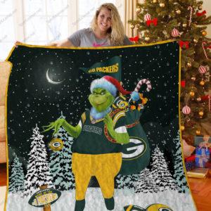 Bl – Gbp Grinch Quilt Blanket