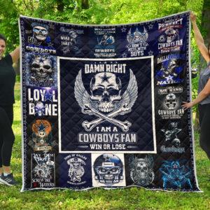 Dallas Cowboys Halloween – Quilt Blanket
