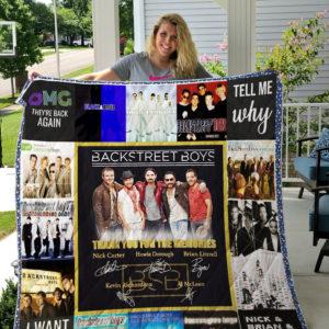 Backstreet Boys Anniversary Quilt Blanket