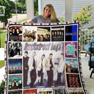 Backstreet Boys Cover Poster Quilt Blanket Ver 3