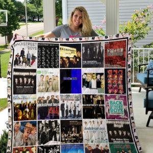 Backstreet Boys Cover Poster Quilt Blanket Ver 4