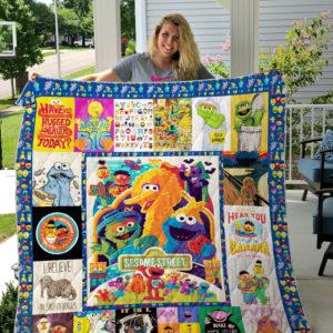 Sesame Street Quilt Blanket