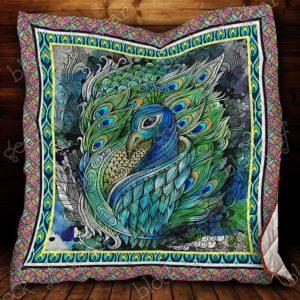 Peacock Quilt Blanket