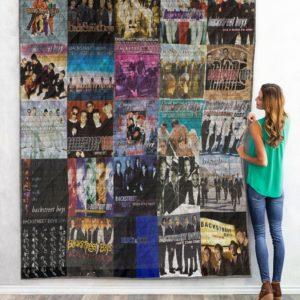 Backstreet Boys 02 Quilt Blanket