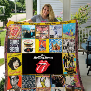 The Rolling Stones 02 Quilt Blanket