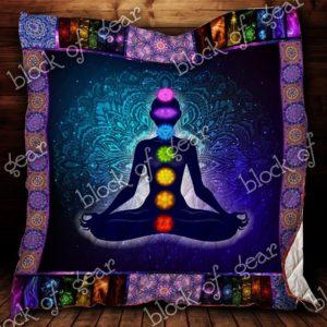Mandala 7 Chakras Tapestry Quilt Blanket