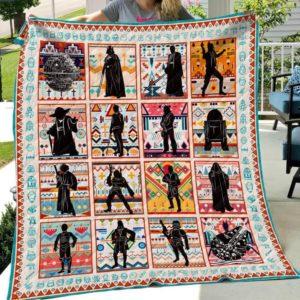 Star Wars Art Quilt Blanket