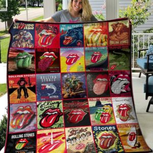 The Rolling Stone Quilt Blanket