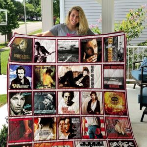 Bruce Springsteen Quilt Blanket