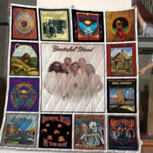 The Best Grateful Dead Albums Of All Time 2 Quilt Blanket