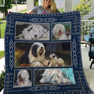 Old English Sheepdog 2 Quilt On Sale!