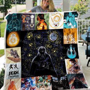Star Wars Quilt Blanket