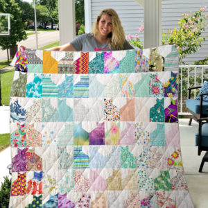 Cats Cats Everywhere Quilt Blanket
