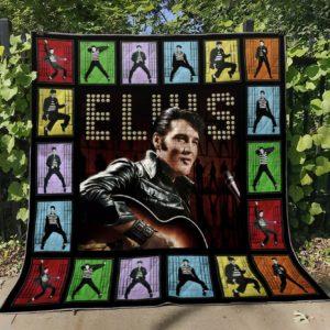 Elvis Presley V2 Quilt Blanket Th0107