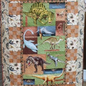 Dinosaur Cute Pattern Quilt Blanket Great Customized Gifts For Birthday Christmas Thanksgiving Perfect Gifts For Dinosaur Lover