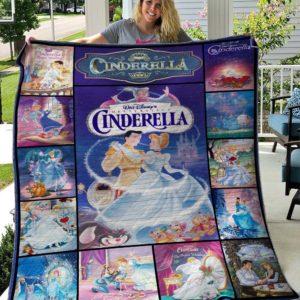 Cinderella Quilt Blanket