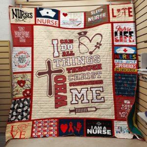 I Am A Nurse Quilt Blanket