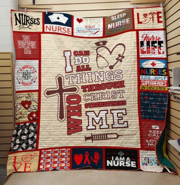 I Am A Nurse Quilt Blanket