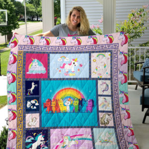 Unicorn Always Be You Quilt Blanket Great Customized Gifts For Birthday Christmas Thanksgiving Perfect Gifts For Unicorn Lover