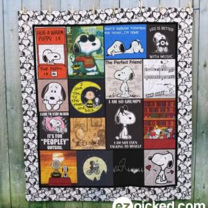 Snoopy 1 Quilt Blanket