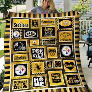 Pittsburgh Steelers Quilt Blanket