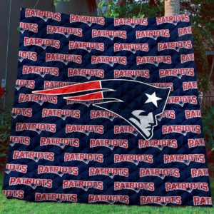 New England Patriots Quilt Blanket Sleepy