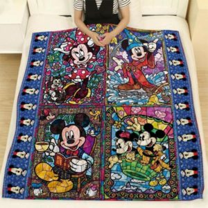 Mickey Mouse Quilt Blanket For Fans