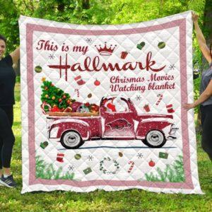 Xmas Arkansas Razorbacks Quilt Blanket