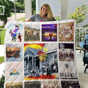 The Allman Brothers Band Album Quilt Blanket For Fans