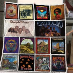The Best Grateful Dead Albums Of All Time 1 Quilt Blanket