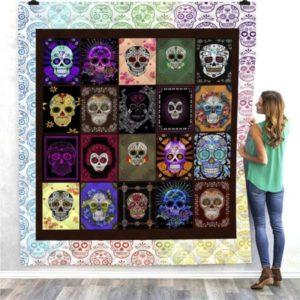 Skull Lover Quilt Blanket
