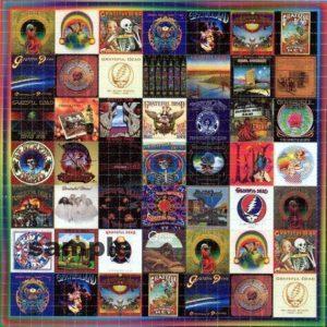 Grateful Dead 03 Quilt Blanket