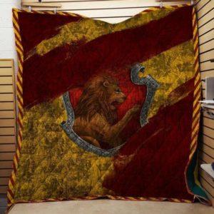 Hogwart House Gryffindor Harry Potter 3d Quilt Blanket