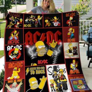 Ac Dc Quilt Blanket