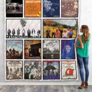 The Allman Brothers Quilt Blanket 02