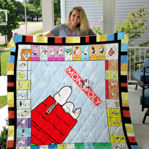 Snoopy 2 Quilt Blanket