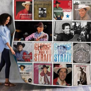 George Strait Complication Albums Quilt Blanket 01 Fan Made