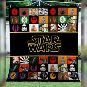 Star Wars Inspired Quilt Blanket
