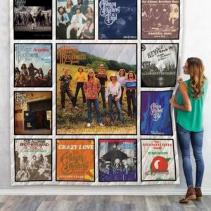 The Allman Brothers Quilt Blanket 01