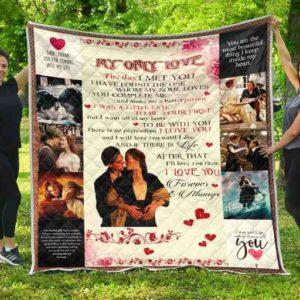 Love Titanic Quilt Blanket