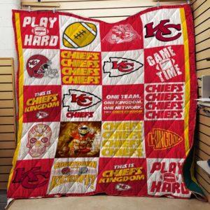 Kansas City Chiefs Quilt Blanket