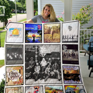 The Allman Brothers Band Albums Quilt Blanket 01